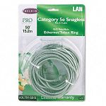CAT5e Snagless Patch Cable RJ45 Connectors 50 ft. Gray (BLKA3L79150S)