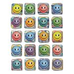 Creativity Street Peel & Stick Gemstone Stickers Smiley Face Pack of 20 (CKC1648)