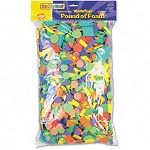 Wonderfoam Shapes Classroom Pack Assorted ShapesColors 5000 PiecesPack (CKC4310)