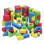 WonderFoam Blocks Assorted Colors 68Pack (CKC4380)
