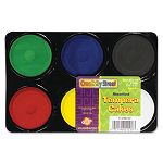 Tempera Cakes 6 Assorted Colors 6Pack (CKC9833)