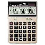 HS-1000TG One-Color 10-Digit Desktop Calculator Tan (CNM1073B010)