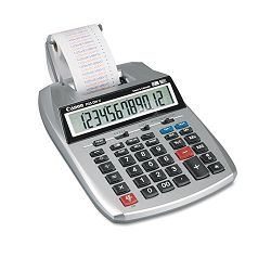 P23-DHV 12-Digit Two-Color Printing Calculator 12-Digit LCD PurpleRed (CNMP23DHV)