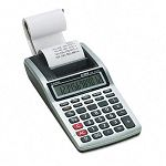 HR-8TM Handheld Portable One-Color Printing Calculator 12-Digit LCD Black (CSOHR8TM)