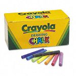 Colored Drawing Chalk Six Each of 24 Assorted Colors 144 SticksSet (CYO510400)