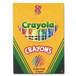 Classic Color Pack Crayons Tuck Box 8 ColorsBox (CYO520008)