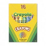 Classic Color Pack Crayons Tuck Box 16 ColorsBox (CYO520016)