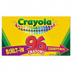 Classic Color Pack Crayons 96 ColorsBox (CYO520096)