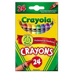 Classic Color Pack Crayons 24 ColorsBox (CYO523024)