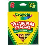 Triangular Crayons 8 ColorsBox (CYO524008)