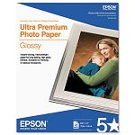 "Ultra-Premium Glossy Photo Paper 79 lbs. 8-12"" x 11"" 25 SheetsPack (EPSS042182)"