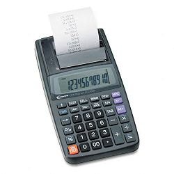 16010 One-Color Printing Calculator 12-Digit LCD Black (IVR16010)