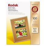 "Photo Paper Matte 7 mil 8-12"" x 11"" 100 SheetsPack (KOD8318164)"
