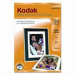 "Ultra Premium Photo Paper 76 lbs. High-Gloss 4"" x 6"" 20 SheetsPack (KOD8777757)"