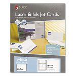 "Unruled Index Cards 3"" x 5"" White Box of 150 (MACML8576)"