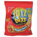 Ritz Bits Peanut Butter 1 12 oz Packs 60 PacksCarton (RTZ06833)