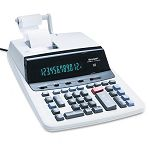 VX2652H Two-Color Printing Calculator 12-Digit Fluorescent BlackRed (SHRVX2652H)