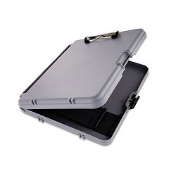 "WorkMate Storage Clipboard 12"" Capacity Holds 8-12""w x 11""h CharcoalGray (SAU00470)"