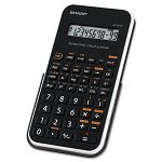 EL-501XBWH Scientific Calculator 10-Digit LCD BlackWhite (SHREL501XBWH)