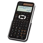 EL-W516XBSL Scientific Calculator 16-Digit x 4-Line LCD BlackSilver (SHRELW516XBSL)