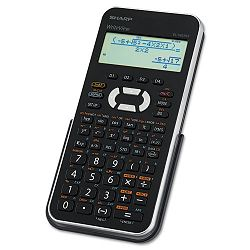 EL-W535XBSL Scientific Calculator 16-Digit x 4-Line LCD BlackSilver (SHRELW535XBSL)