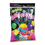 Helium Quality Latex Balloons 12 Assorted Colors 144Pack (TBL1200)