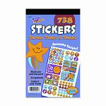 Sticker Assortment Pack Super Stars & Smiles 738Pack (TEPT5010)