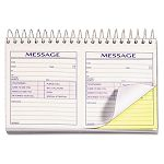 "Spiralbound Message Book 4-14"" x 5"" Carbonless Duplicate 200 SetsBook (TOP4007)"