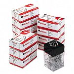Paper Clips Smooth Finish No. 1 Silver Box of 100 10 BoxesPack (UNV72210)