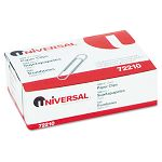 Paper Clips Smooth Finish No. 1 Silver Box of 100 (UNV72210BX)