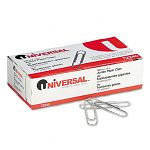 Nonskid Paper Clips Wire Jumbo Silver Box of 100 10 BoxesPack (UNV72240)