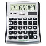 1100-3A Antimicrobial Compact Desktop Calculator 10-Digit LCD (VCT11003A)