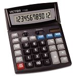 1190 Executive Desktop Calculator 12-Digit LCD (VCT1190)