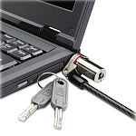 Microsaver DS Ultra-Thin Laptop Lock Silver Two Keys (KMW64590)
