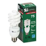Mini-Lynx Spiral Soft White Energy Saver Compact Fluorescent Bulb 20 Watts (SLT26158)