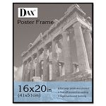"Coloredge Poster Frame with Plexiglas Window 16"" x 20"" Clear FaceBlack Border (DAXN16016BT)"
