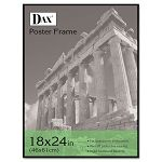 "Coloredge Poster Frame with Plexiglas Window 18"" x 24"" Clear FaceBlack Border (DAXN16018BT)"