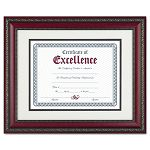 "World Class Document Frame with Certificate Rosewood 11 x 14"" (DAXN3245S3T)"