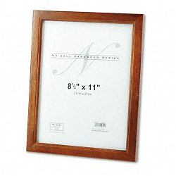 "Solid Oak Hardwood Frame 8-12"" x 11"" Walnut Finish (NUD15815)"