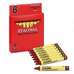 Staonal Marking Crayons Red Box of 8 (CYO5200023038)