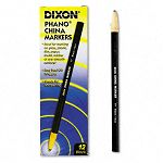 China Marker Black Pack of 12 (DIX00077)