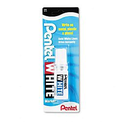 Permanent Marker Broad Tip White (PEN100W)