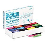 Scented Watercolor Markers 12 Colors Set of 192 (SAN2016TL)