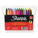Permanent Markers Fine Point Assorted Set of 24 (SAN75846)