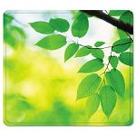 "Recycled Mouse Pad Nonskid Base 7-12"" x 9"" Leaves (FEL5903801)"