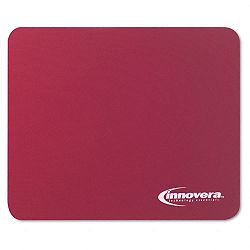 Natural Rubber Mouse Pad Burgundy (IVR52445)