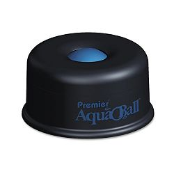 "AquaBall Floating Ball Envelope Moistener 1 14"" x 1 14"" x 5 38"" Black Blue (PREAQ701G)"