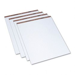 "Easel Pads Quadrille Rule 27"" x 34"" White 50-Sheet Pads 4 PadsCarton (TOP7900)"