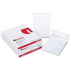 "Scratch Pads Unruled 4"" x 6"" White 100-Sheet Pads 12 pack (UNV35614)"