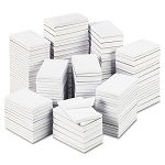 UNV35615 Scratch Pads White 3 Pack Value Bundle Unruled 5 x 8 12 100-Sheet Pads//Pack